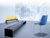Unique and stylish seats made with innovative chair components