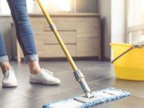 Come pulire un pavimento in ceramica prima di fare un trasloco